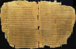 Появление учетных регистров в Древнем Египте