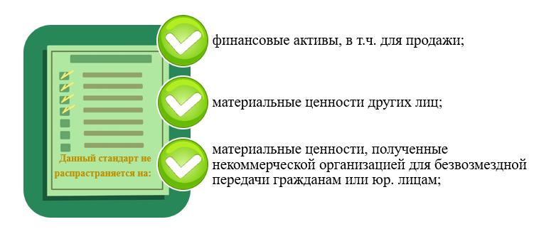 Стандарт бухгалтерского учета 5/2019 не распространяется