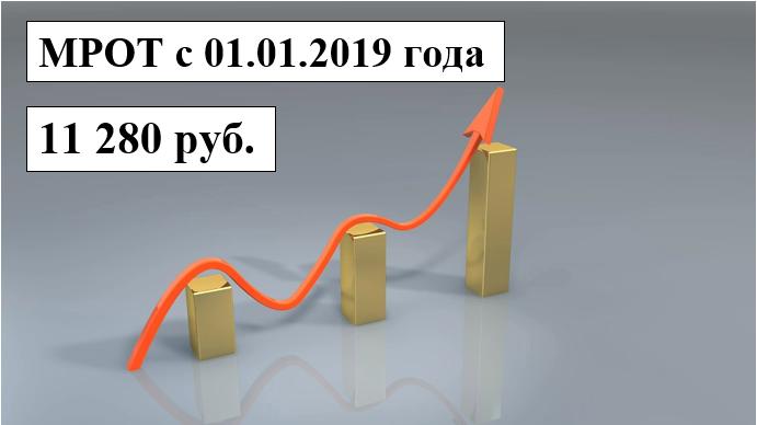 Закон об изменении МРОТ с 1 января 2019 года